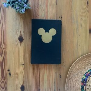 Mickey Mouse black/gold journal